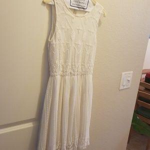 Ivory white dress